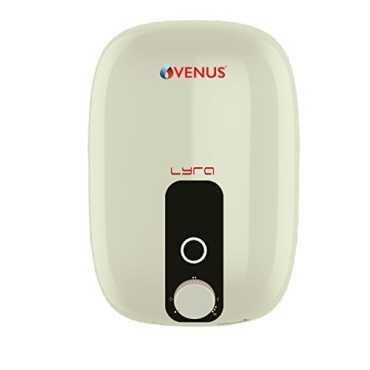 Venus Lyra 15R 15 Litre Storage Water Geyser - White | Red | Orange