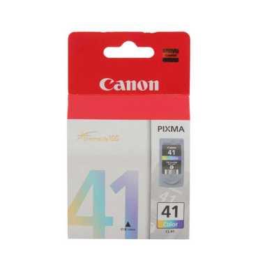 Canon CL 41 Tricolour Ink Cartridge - Black | Pink