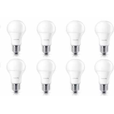 Philips Stellar Bright 12W E27 1100L LED Bulb Yellow Pack of 8
