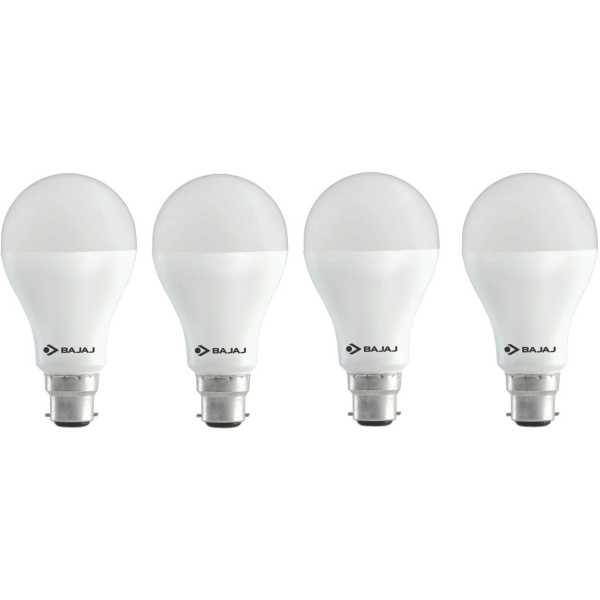 Bajaj 12 W LED CDL B22 HPF Bulb White (pack of 4) - White