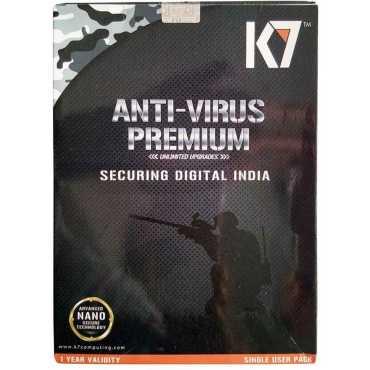 K7 Antivirus Premium 2015 1 PC 1 Year