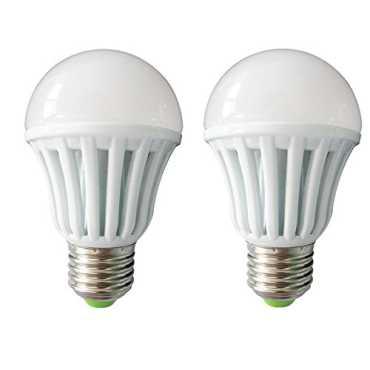 IPP 3W E27 LED Bulb (White, Set of 2) - White