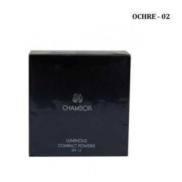 Chambor Luminous Compact Powder Foundation 02 Ocher