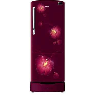 Samsung RR20N182ZR3/HL, /RR20N282ZR3/NL 3 Star 192L Single Door Refrigerator (Rose Mallow Plum)
