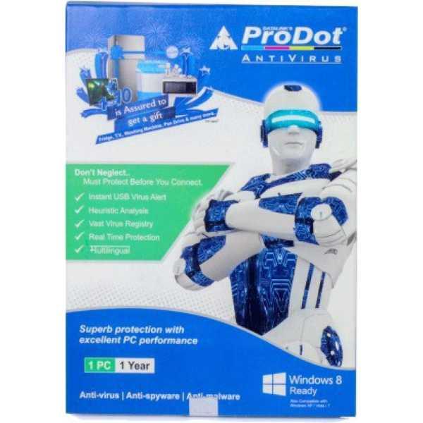 ProDot (PRDT) 2015 1PC 1Year Antivirus