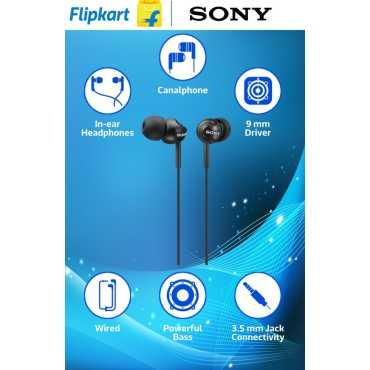 Sony MDR-EX110 Headphones - Blue