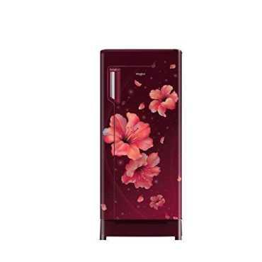 Whirlpool 260 IMPRO ROY 245L 4 Star Inverter Direct Cool Single Door Refrigerator (Wine Hibiscus)