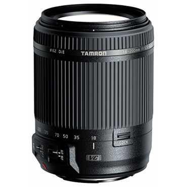 Tamron B018 (18-200mm) F/3.5-6.3 Di II VC Lens (For Canon DSLR) - Black