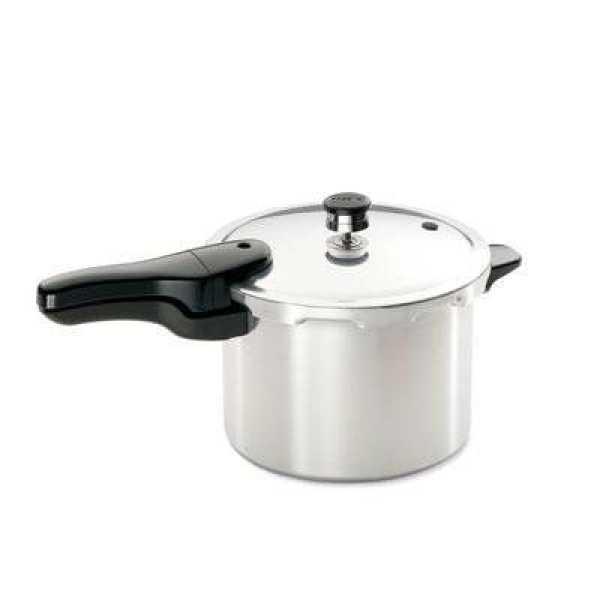 Presto 01264 Aluminium 5.7 L Pressure Cooker (Inner Lid)