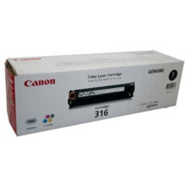 Canon 316 Black Toner Cartridge