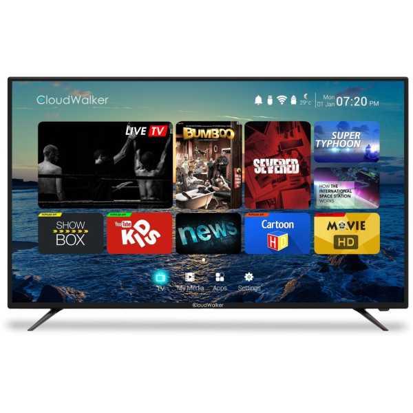 Cloudwalker Cloud TV 55SU 55 Inch Ultra HD 4K Smart LED TV