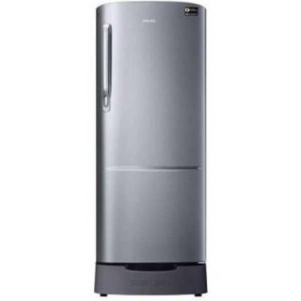 Samsung RR24A282YS8 230 L 3 Star Inverter Direct Cool Single Door Refrigerator