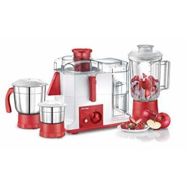Prestige Platina 550W Juicer Mixer Grinder (3 Jars) - White