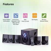Envent DeeJay 702 5.1 Home Audio Speaker