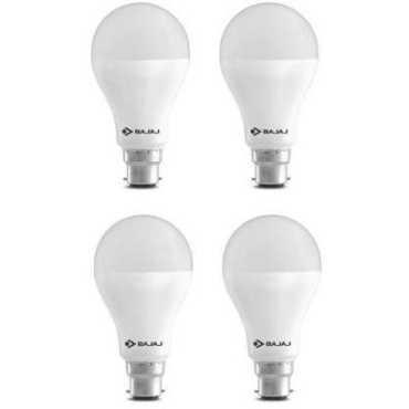 Bajaj 15 W LED CDL B22 HPF Bulb White (pack of 4) - White
