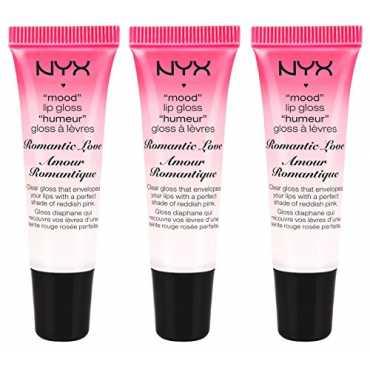 NYX Mood Lip Gloss (Romantic Love) (Set of 3)