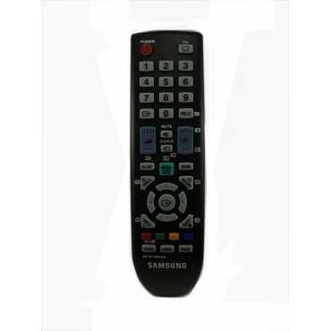 Samsung Original Remote Control Compatible For Samsung LCD RM-1616 - Black