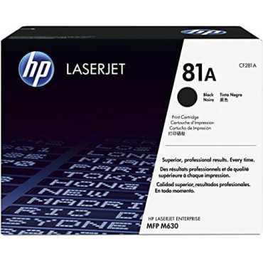 HP 81A (CF281A) Black LaserJet Toner Cartridge - Black