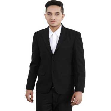 Loui-E-Ville Solid Single Breasted Formal Men s Blazer