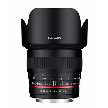 Samyang 50mm F1.4 AS UMC Focus Lens (For Canon)