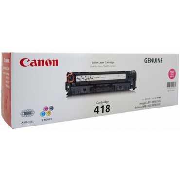 Canon 418 Magenta Toner Cartridge - Pink
