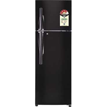 LG GL-T372JBLN 375 L 4 Star Inverter Frost Free Double Door Refrigerator - Black