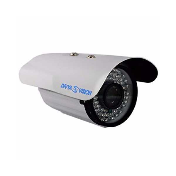 Divya Vision DV-TAH208W AHD Bullet CCTV Camera (Set Of 2)