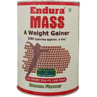 Endura Mass Weight Gainer (1 Kg,Banana)