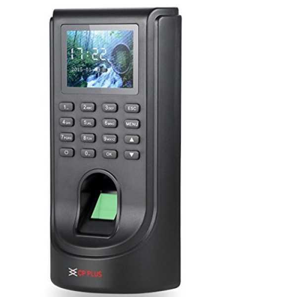 Cp Plus  CP-VTA-T2124-C Biometric Attendance System - Black