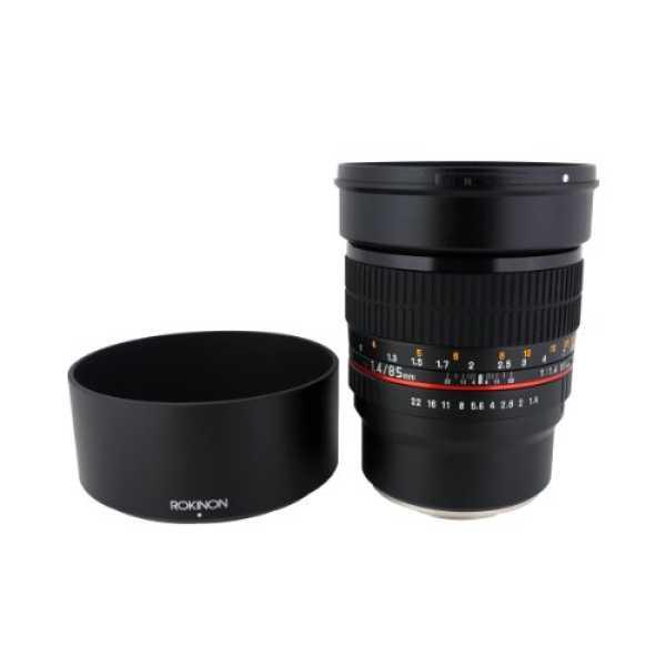 Rokinon 85M-E 85mm F1 4 Fixed Lens For Sony E-Mount