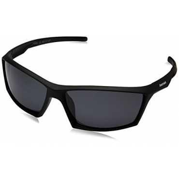 Fastrack Polarized Sport Men s Sunglasses P356BK1P 63 Smoke Grey Black Color