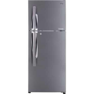 LG GL-C292RPZN 260 L 4 Star Inverter Frost Free Double Door Refrigerator - Steel