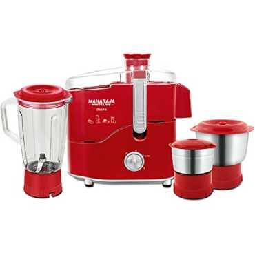 Maharaja Whiteline Desire JX-210 550W juicer mixer grinder - Red | White