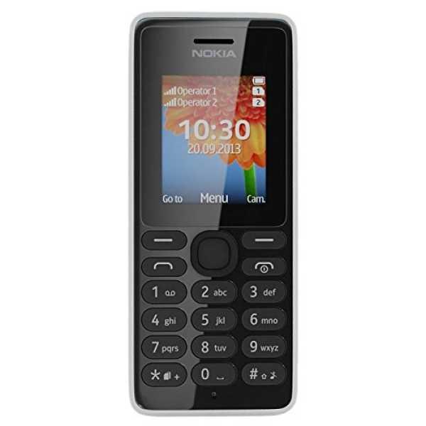 Nokia 108 Dual SIM - Red