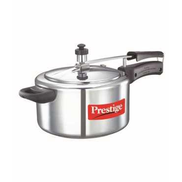 Prestige Nakshatra Plus Aluminium 4 L Pressure Cooker Inductio nBased Inner Lid