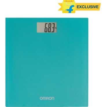 Omron HN 289 Weighing Scale - Black | Grey | Blue