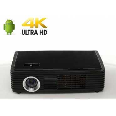 Boss S6 4K Portable LED Projector - Black