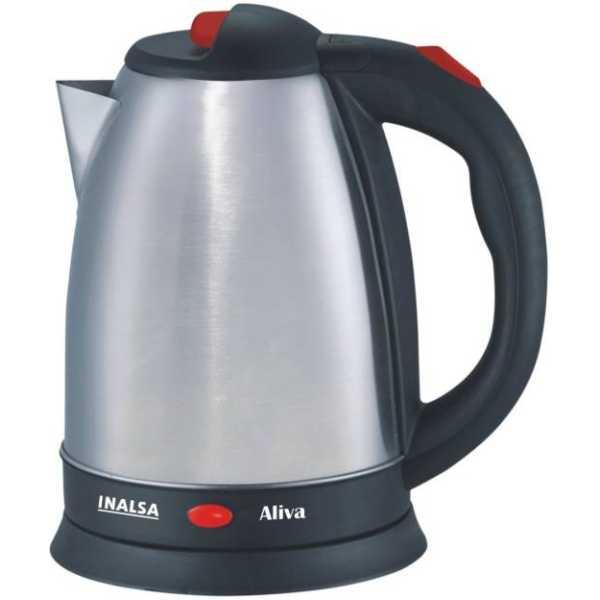 Inalsa Aliva 1.5 L Electric Kettle - Black