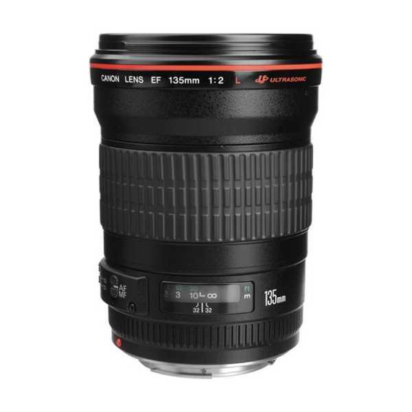 Canon EF 135mm f/2L USM Lens - Black
