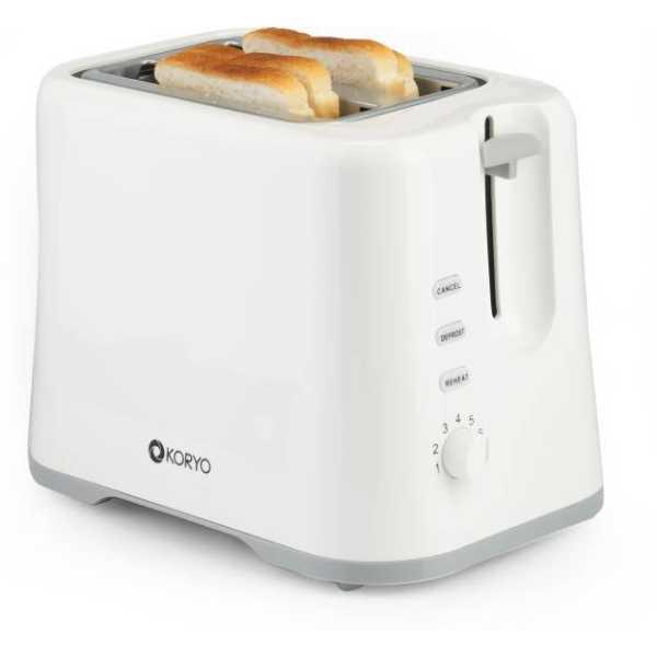 Koryo KPT926G 730 W Pop Up Toaster