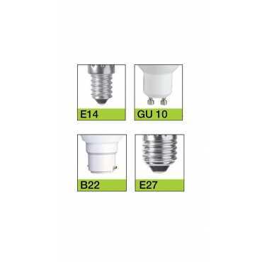 Syska 9W Led Bulb (White, Pack of 8) - White