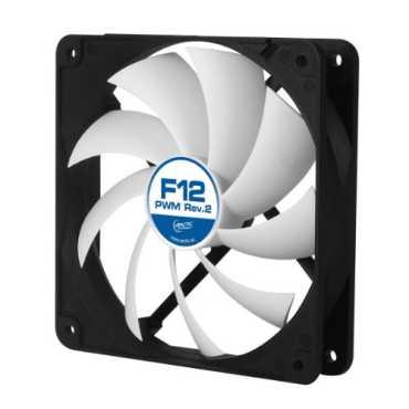ARCTIC F12 PWM Rev2 120mm Cooling Fan - Black