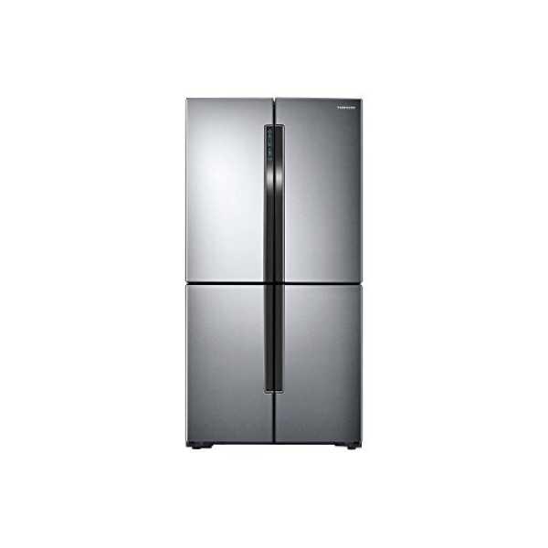 Samsung  RF60J9090SL/TL 680 Litres Side By Side Refrigerator - Silver
