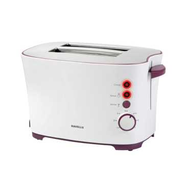 Havells Feasto 2 Slice Pop Up Toaster - White
