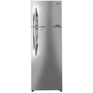 LG GL-C402RPZU 360 L 4 Star Inverter Frost Free Double Door Refrigerator - Steel