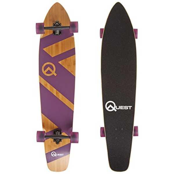 Quest Super Cruiser Skateboards - Purple