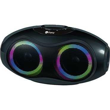 Zync Orko Bluetooth Wireless Speaker - Black   Orange