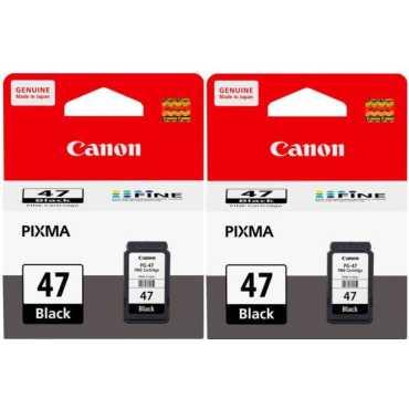 Canon Pixma 47 Black Ink Cartridge Twin Pack