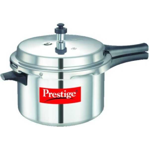 Prestige 10016 Aluminium 5.5 L Pressure Cooker (Outer Lid)