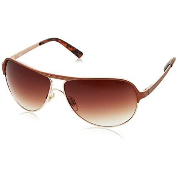 Image Gradient Aviator Men's Sunglasses - (IMS271C1SG|62|Brown Gradient Color)